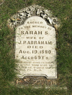Sarah S. <i>Thomas</i> Abraham