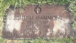 Pvt John Henry Hammons