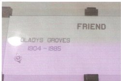 Gladys <i>Groves</i> Friend