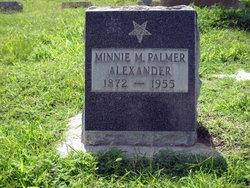 Minnie Mary <i>Shockey</i> Alexander