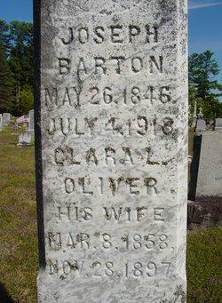 Clara L. <i>Oliver</i> Barton