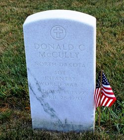 Sgt Donald Carroll Don McCully