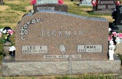 Emma Elizabeth <i>Koester</i> Beckman