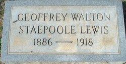 Geoffrey Walton Staepoole Lewis