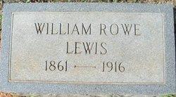 William Rowe Lewis