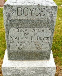 Edna Alma <i>Wedel</i> Boyce