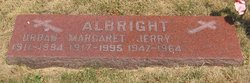 Margaret Mary Peg <i>Sheridan</i> Albright