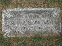 Bertha C. <i>Rakowski</i> Borowski