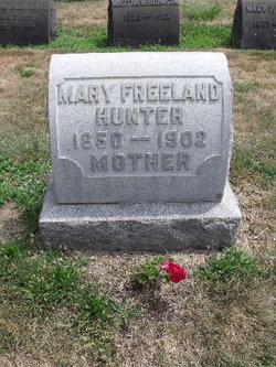 Mary <i>Freeland</i> Hunter
