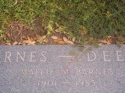 Mallie B Barnes