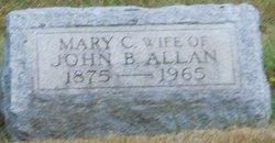 Mary <i>Cochran</i> Allan