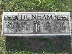 Anna Margaret <i>Grove</i> Dunham