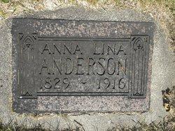 Anna Lina Anderson
