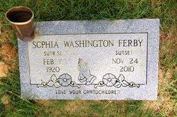 Sophia <i>Washington</i> Ferby