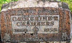 Catherine R <i>Rogers</i> Chambers