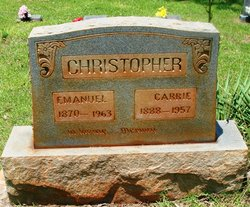 Carrie C <i>Rich</i> Christopher