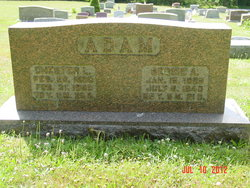 Bessie A. <i>Smith</i> Adam