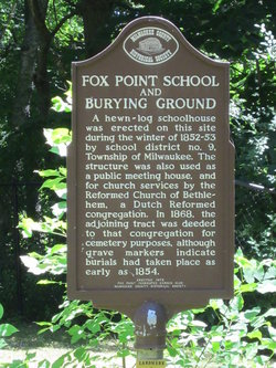 Fox Point Burying Ground