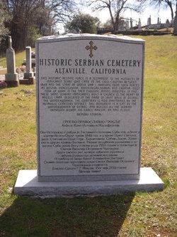 Altaville Serbian Cemetery