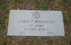 John F Maloney
