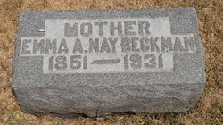 Emma A. <i>May</i> Beckman