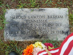 Corp Harold Lawton Basham