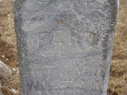 James Ferd Wilkerson