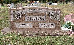Anna Mary <i>Rigby</i> Alston
