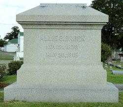 Allie Beasley Brock, Jr