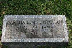 Bertha L <i>Myers</i> McCutchan