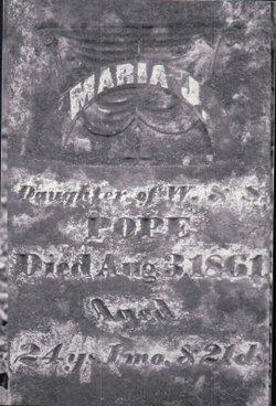 Maria J. Pope
