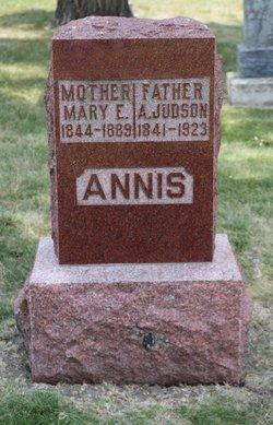 Mary Eliza <i>Burhans</i> Annis