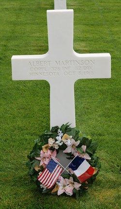 CORP Albert Martinson