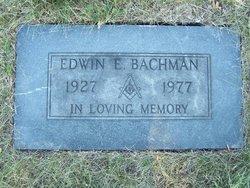 Edwin Eugene Bachman