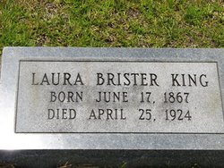 Laura A. <i>Brister</i> King