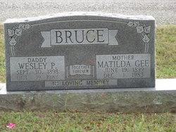Matilda Jane <i>Gee</i> Bruce