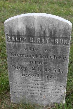 Sally Brown <i>Rathbun</i> Barber