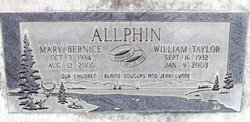 Mary Bernice Allphin