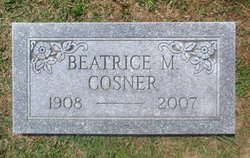 Beatrice M. <i>Spiker</i> Cosner