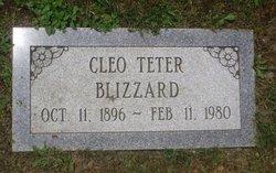 Cleo Teter <i>Nelson</i> Blizzard