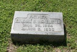 Edward B McAllister