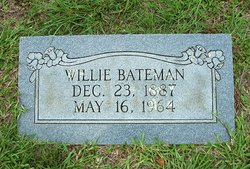 Willie <i>Blalock</i> Bateman