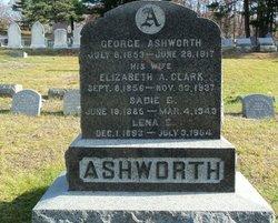 Elizabeth A <i>Clark</i> Ashworth
