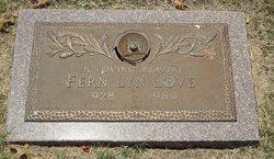 Fern Evelyn Lyn <i>Rowell</i> Love
