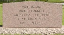 Martha Jane <i>Marley</i> Carroll