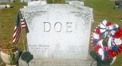 Walter Pershing Doe
