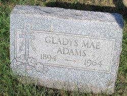 Gladys Mae <i>Grove</i> Adams