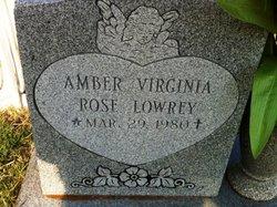 Amber Virginia Rose Lowrey