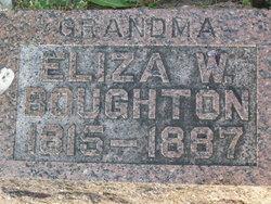 Eliza Wright <i>Bent</i> Boughton