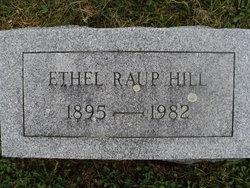 Ethel <i>Raup</i> Hill